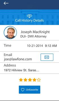 LAWfone On Demand apk screenshot
