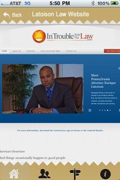 Latoison Law App poster