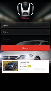 Honda Tláhuac apk screenshot