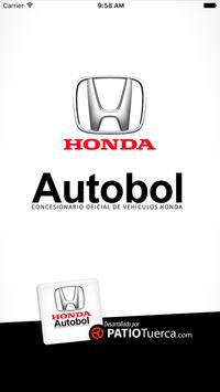 Honda Autobol poster