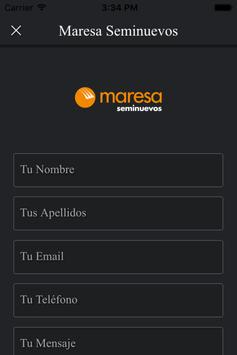 Maresa Seminuevos apk screenshot