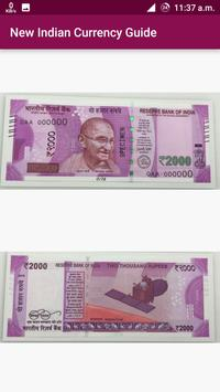 New Indian Currency Exchange poster
