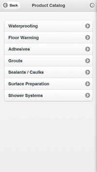 LATICRETE Mobile apk screenshot