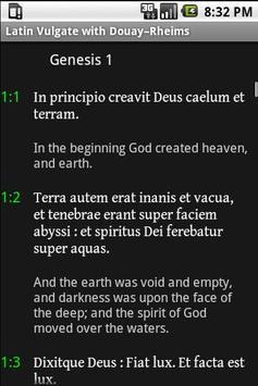 Bible: Vulgate + DRC (free) apk screenshot