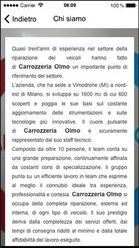 Carrozzeria Olmo apk screenshot