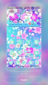 Blossom sakura Theme poster