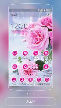 Pink Rose Love Theme poster