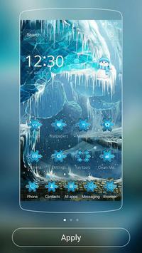 Theme Ice Frozen Snow Castle poster