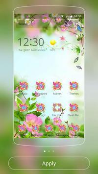 Blossom flower Theme poster
