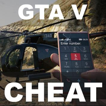 Cheat Code for GTA 5 poster