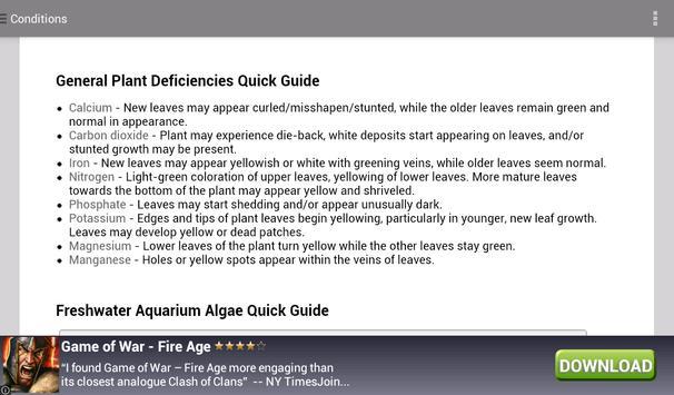 Aqua Plants 2 (English) apk screenshot