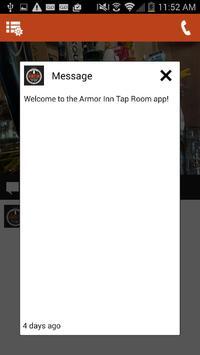 Armor Inn Tap Room apk screenshot