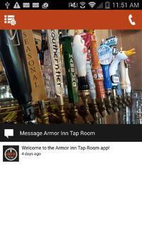 Armor Inn Tap Room poster