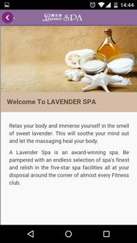 Lavender Spa apk screenshot
