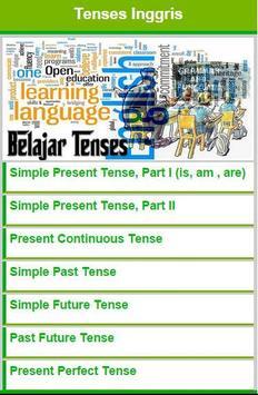 Belajar Tenses poster
