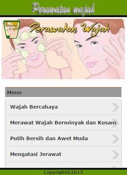 Perawatan Wajah poster