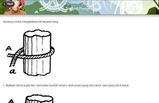 Tali Temali Pramuka Lengkap apk screenshot
