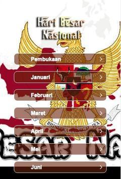 Hari Besar Nasional poster
