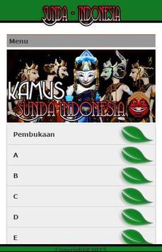 Kamus Sunda Indonesia poster