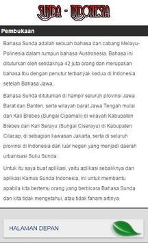 Kamus Sunda Indonesia apk screenshot