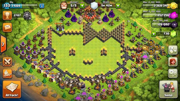 Base Layout For Clash Royale apk screenshot