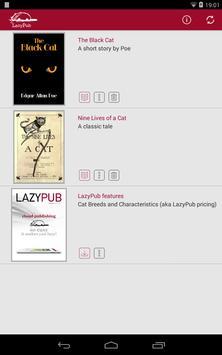 LazyPub poster