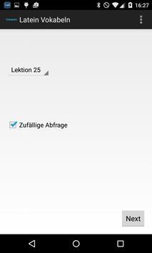 Latein Vokabeln apk screenshot