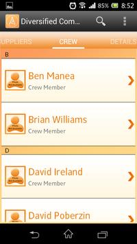 Ericsson HR Mobile Application apk screenshot