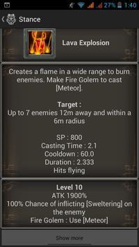 Chars guide for Granado Espada apk screenshot