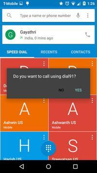 Dial91- Easy Dialer poster