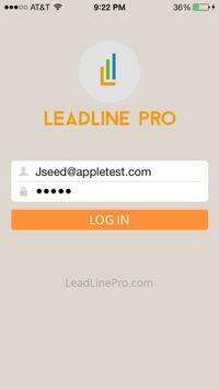 LeadLine Pro (LLP) poster