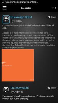 DSCA Comunica apk screenshot