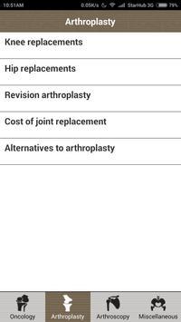 An Orthopaedic Reference - SG apk screenshot
