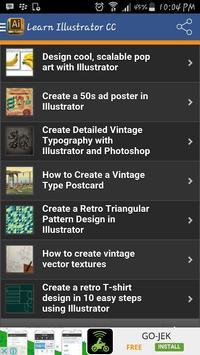 Learn Illustrator CC apk screenshot