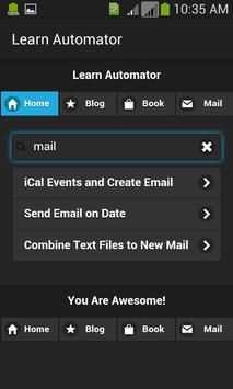 Learn Automator apk screenshot