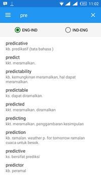 Free Indonesia-English Dict apk screenshot