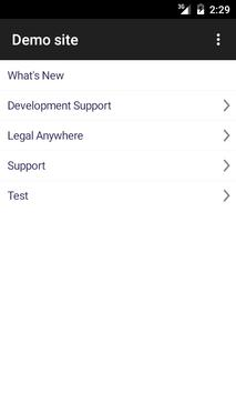 Legal Anywhere apk screenshot