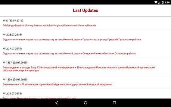 LegalActs Mobile apk screenshot