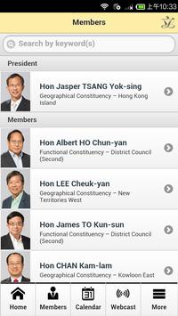 HK LegCo apk screenshot