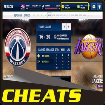 Tricks NBA LIVE Mobile apk screenshot