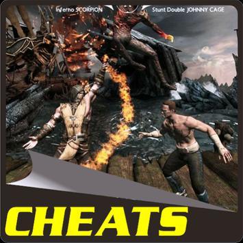 Cheats MORTAL KOMBAT X apk screenshot
