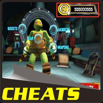 Cheats Ninja Turtle Legends apk screenshot