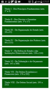Constituição Federal Brasileir poster