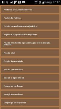 Polícia x Direito apk screenshot
