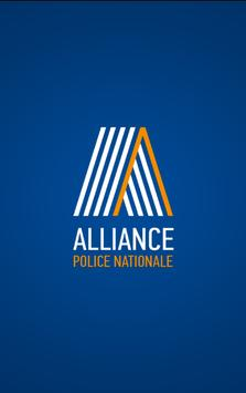 Alliance syndicat police poster