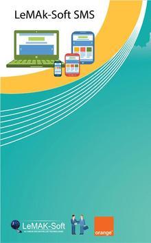 LeMAKSoft Bulk SMS Sender poster