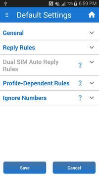 Sleep + Silent Mode + Auto SMS apk screenshot