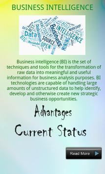 Business Intelligence Course apk screenshot
