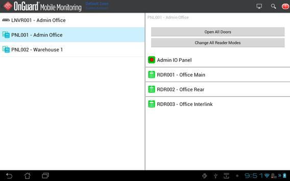 OnGuard Mobile Monitoring apk screenshot