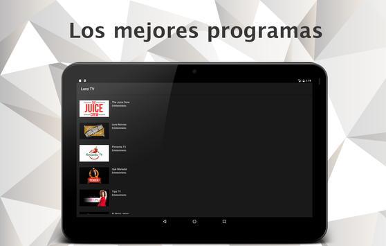 Lenz TV apk screenshot